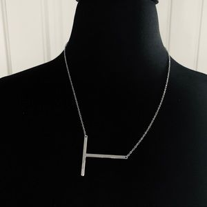 """Jewelry - Initial """"T"""" Necklace"""